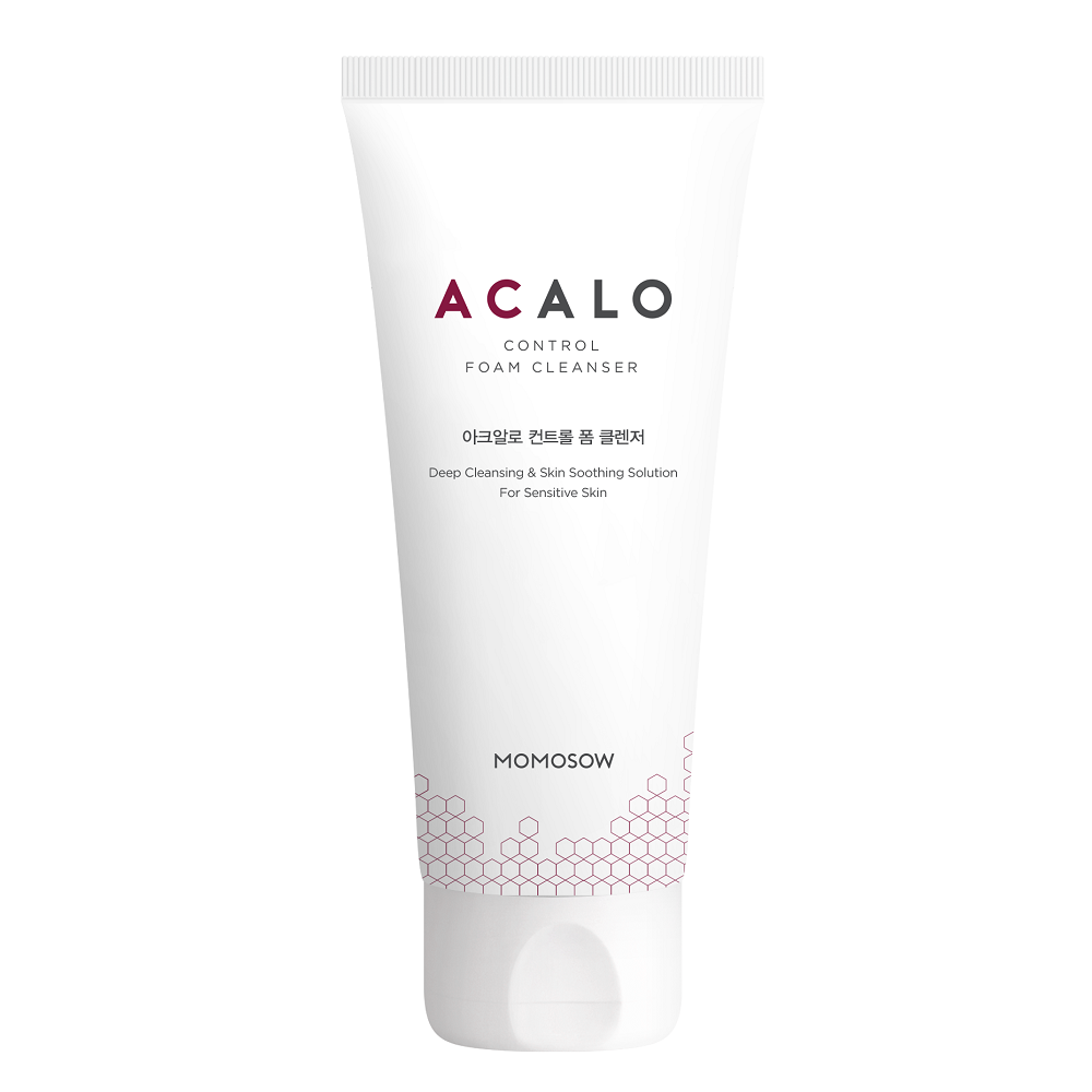 MOMOSOW โฟมล้างหน้า Acalo Control Cleanser