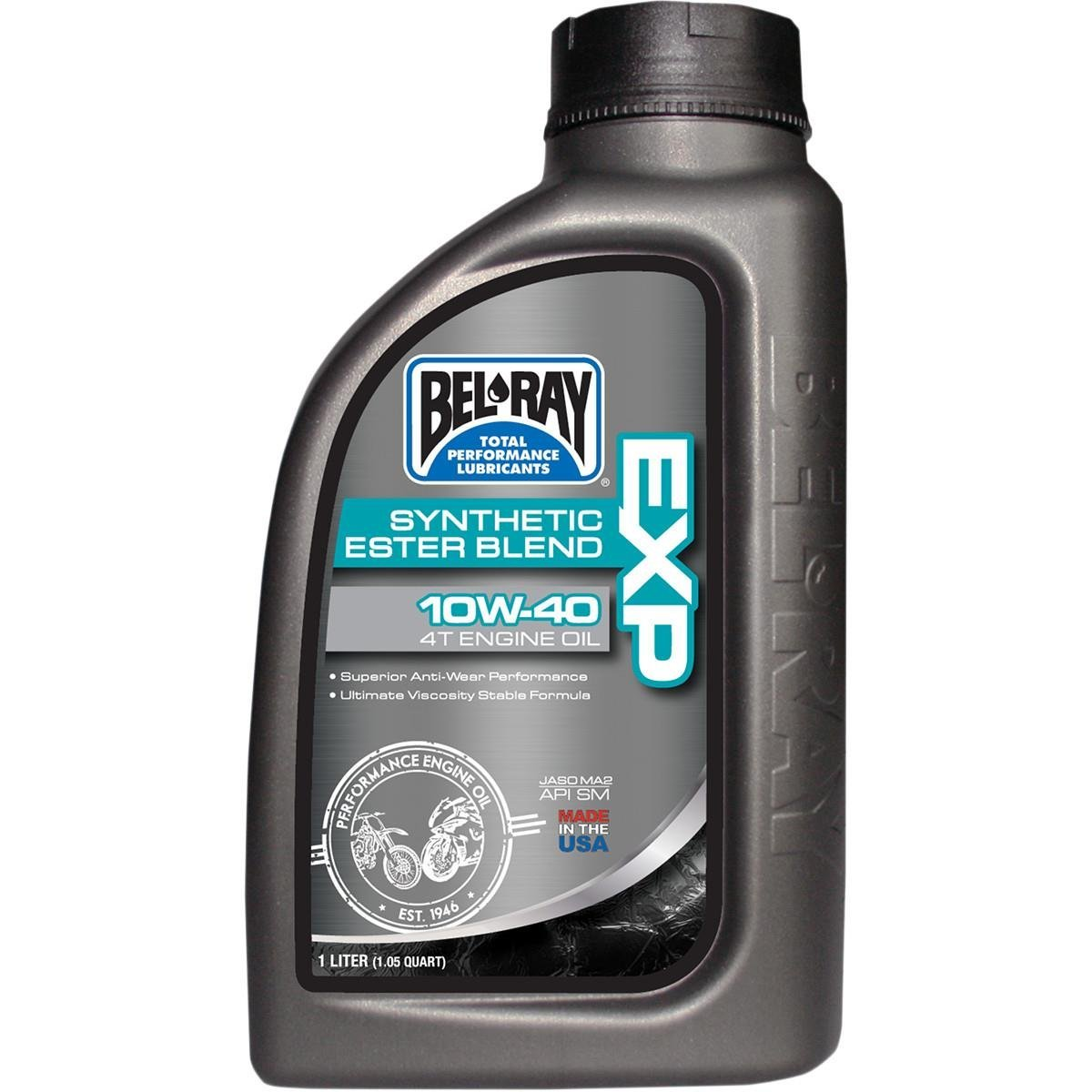 Bel-Ray EXP Synthetic Ester Blend 4T Engine Oil - 20W50 - 4L. 99131-B4LW