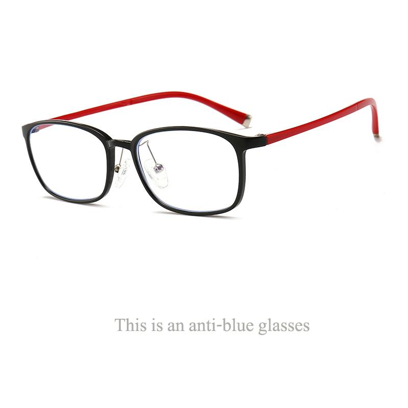 Изысканные овальные очки TR90 с защитой от синего света индивидуальный дизайн независимые силиконовые носоупоры модная Ультралегкая оправа ...(Китай)