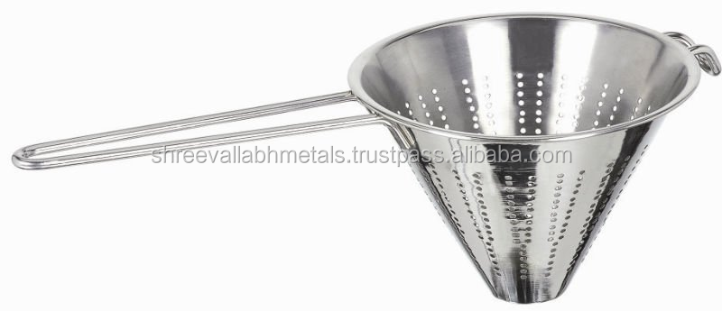 Stainless Steel Cone Shaped Strainer