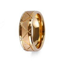 OEM <span class=keywords><strong>보석</strong></span> Manufacturer Custom Design Rose Gold Plated Tungsten 링