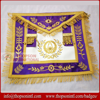 Grand Lodge Officer Apron - Senior Deacon - Buy Masonic Grand Lodge  Apron,Grand Master Apron,Officer Apron Blue Lodge Product on Alibaba com