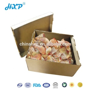 Promotion custom shrimp packaging box wax coated seafood boxes