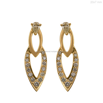 2018 Fashion Jewelry New Latest Gold Earring Designs For Women