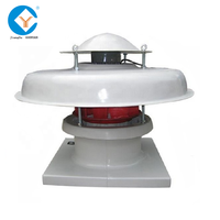 Industrial Roof Exhaust Fan / Roof Mounted Industrial Exhaust Fan
