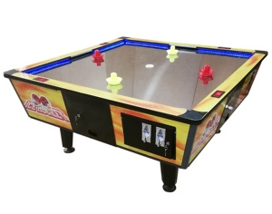 Excellent Coin Operated 4 Player Air Hockey Arcade Game Machine Interior Design Ideas Tzicisoteloinfo