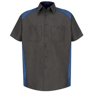 RED KAP MEN'S SHORT SLEEVE MOTORSPORTS SHIRT