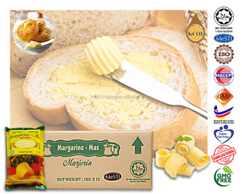 1kg Halal Certified Bakery Margarine (premium Buttery Flavour) - Buy  Consumer Pack Margarine,Iso Haccp Gmp Halal Transfat Free Gmo Free  Cholesterol