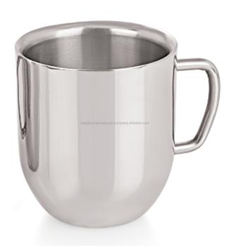 Stainless Steel Double Wall Cuccino Mug