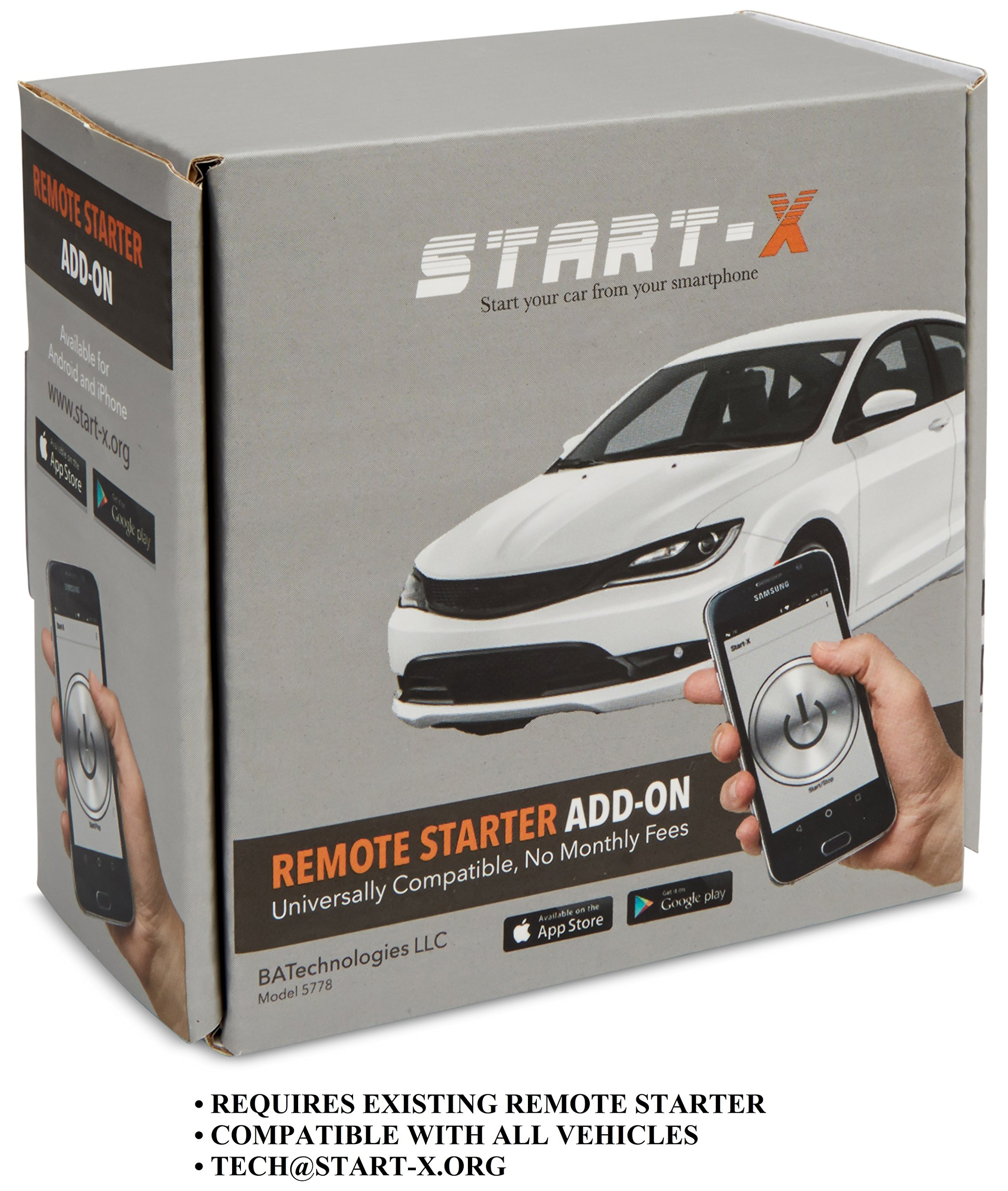 Get Quotations · Start-X 2.0 Remote Starter Add On Module – Car System To  Control Remote Starter