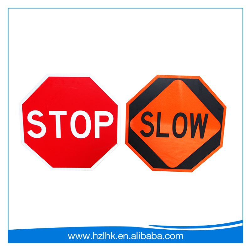 2017 Top safety traffic signs slow stop bats