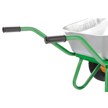Garden wheelbarrow 2-wheel, reinforced, 320 kg, 100 L