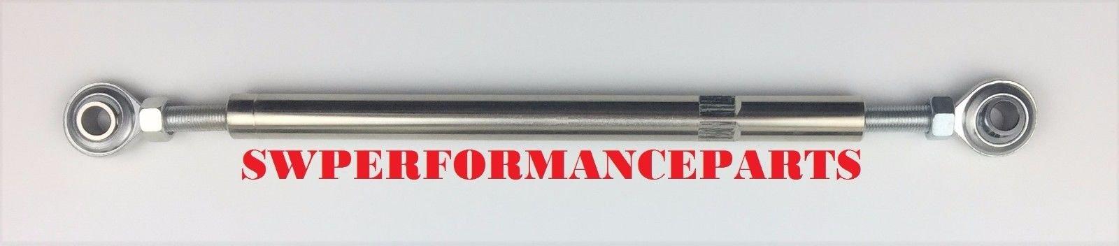 A-Team Performance 5 1//2 Adjustable Tensioning Rod Heim Joint Alternator Bracket SBC BBC 350 454