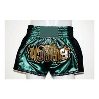Custom Made Muay Thai Shorts High Quality Satin Martial Arts Kickboxing