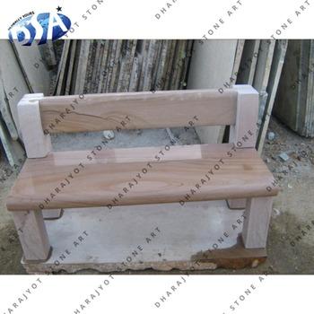 Tsumago Marble Sandstone Benches Garden Natural Stone Long Bench