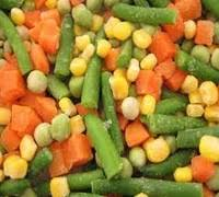 Deep Frozen HALAL mixed vegetables