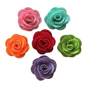 2 inch Felt Rosette Decoration Flower Baby Girl's Kid's Fabric Hair Flower
