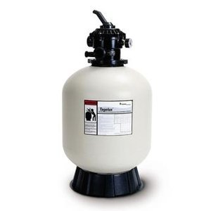Pentair 145201 Tagelus Top Mount Fiberglass Sand Pool Filter with ClearPro Technology , 3.1 Square Feet, 60 GPM, with Clamp-Style Multiport Valve