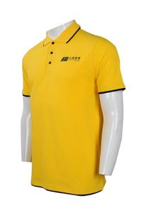Short Sleeve Polyester Men Sports Polo T Shirt