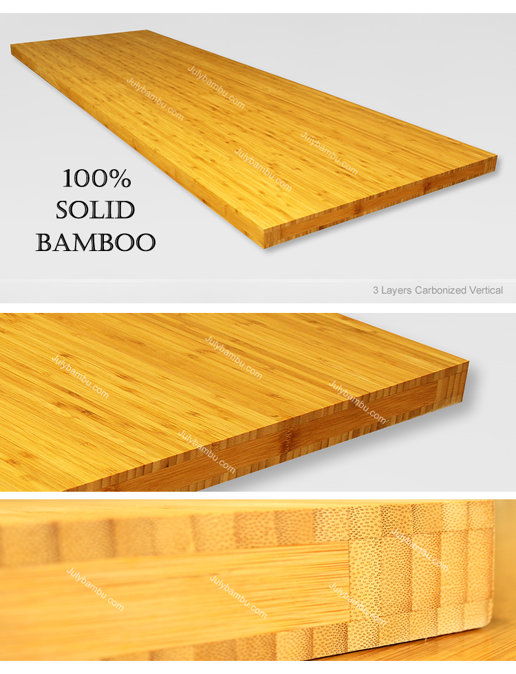 Bamboo Countertop-3 Layers