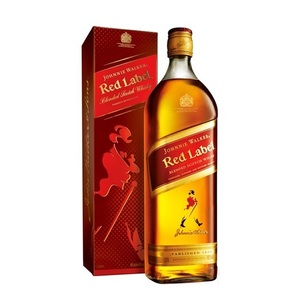 Johnnie Walker Red, Black, Gold, Blue Labels