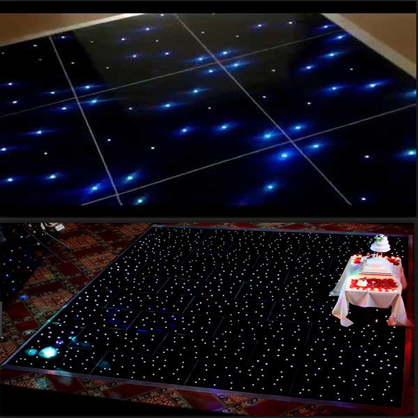 professional shengzhen manufacturer lighted disco led dance floor/event star lighting flooring