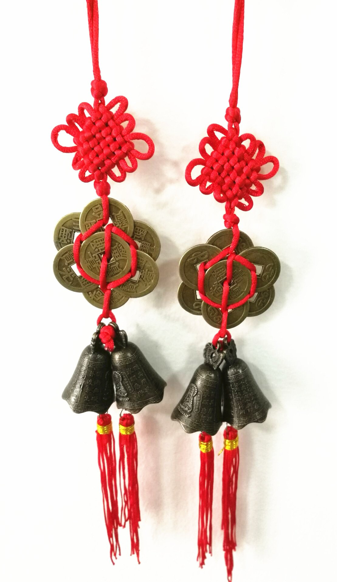 Buy TtoyouU Chinese Feng Shui 5 Lucky Coins Hanger to