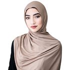 Wholesale new design new arrival jersey cotton hijab scarf graceful with flowers for muslim scarf women