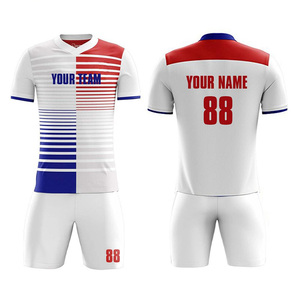 2019 high quality printed sublimated soccer uniforms for mens and kids