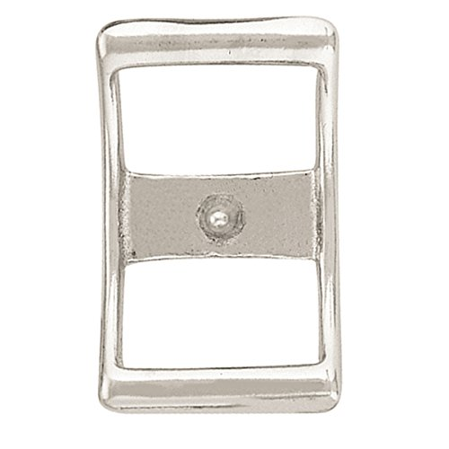 """Weaver Leather 00210-SS-2 210 Conway Buckle Stainless Steel, 2"""""""