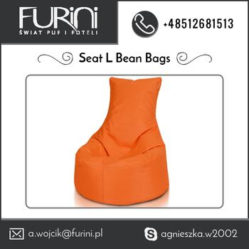 2017 Latest Orange Beanbag Chair For Wholesale Export