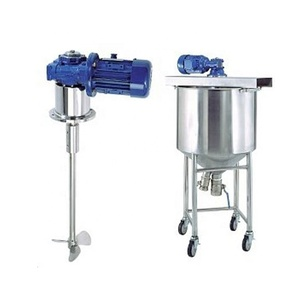 Industrial automatic soap high viscosity liquid mixer machine