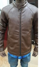 Apparel Stock lots Stocklots Pure Leather men Jacket Surplus