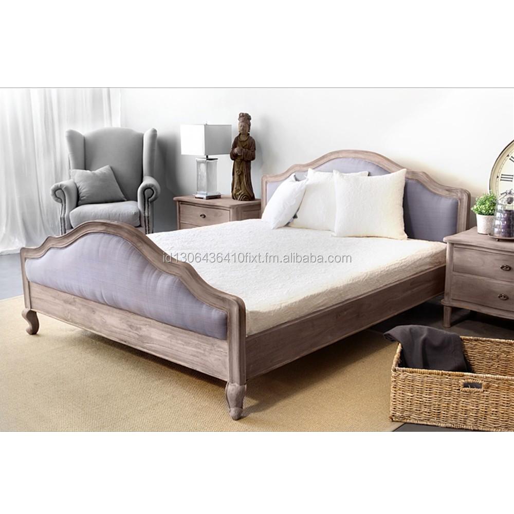 Natural Wood Bed Set Restoration Bedroom Furniture - Buy Bedroom ...