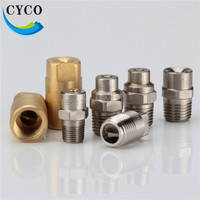 "Full jet quick install spray nozzle brass water spray nozzle with standard/wide /narrow angle 1/8"" 1/4"" 3/8"" 1/2"" 1"" 2"" size"
