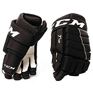 7c3276ad799 Get Quotations · CCM Tacks 4Roll Hg4iii Junior Hockey Gloves (HGT4R-JR)