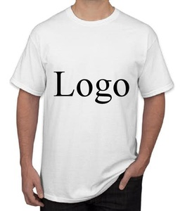OEM 100% Cotton men women unisex oem logo blank plain short sleeve custom t shirt
