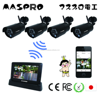 Functional High quality wireless web security HD camera at reasonable prices, max 4 cams are installed