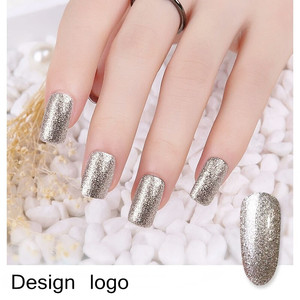 wholesale bling gel polish metallic new platinum gel polish nail art gel polish