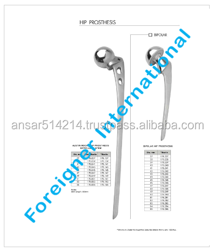 Steel Angle Blade Plate Instrument Set, for Hip Joint