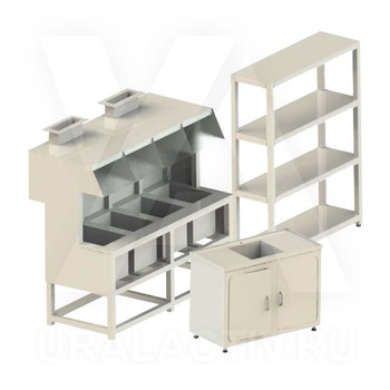 Laboratory furniture, chemistry laboratory equipment