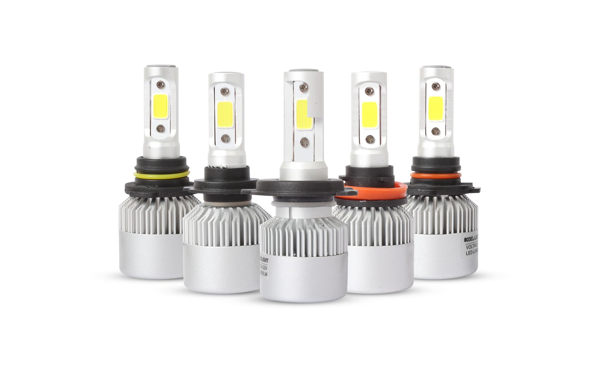 S2 COB led headlight bulbs