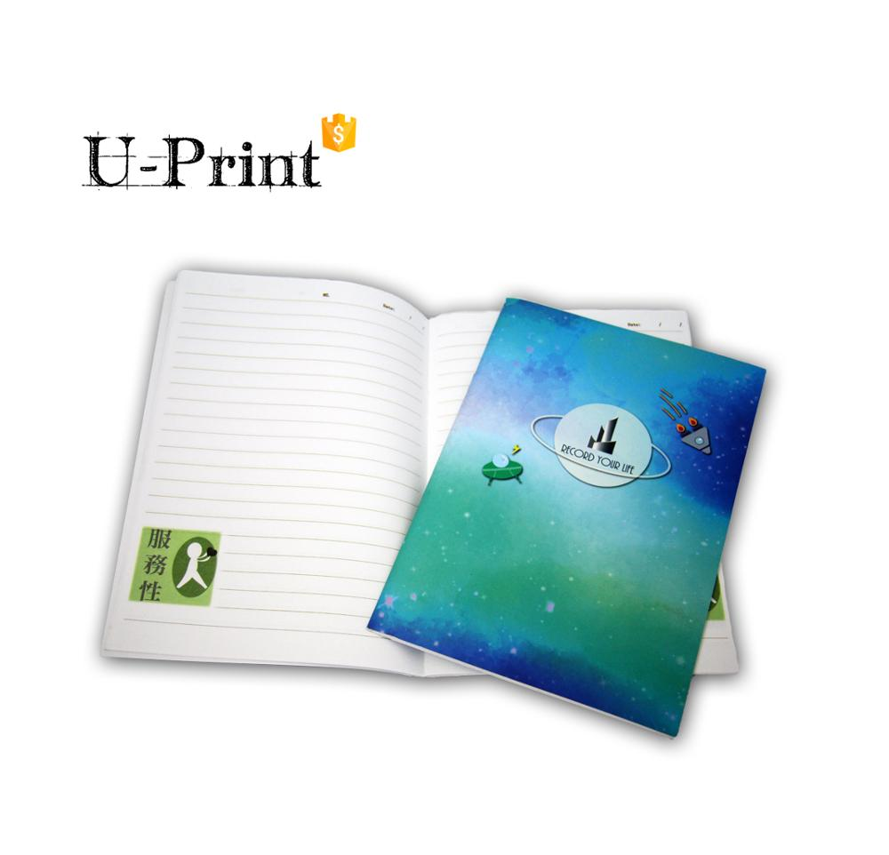 Wholesale Custom Softcover Notebook, Personalized Cover <strong>Printing</strong> with High Quality in Taiwan