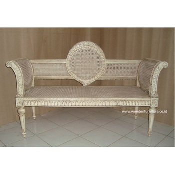 Terrific Antique Reproduction Rattan Sofa Classic Bench French Style Chair Cane European Style Home Furniture Buy European Style Antique Painted Ncnpc Chair Design For Home Ncnpcorg