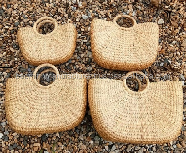 Grande festa beach straw basket bag