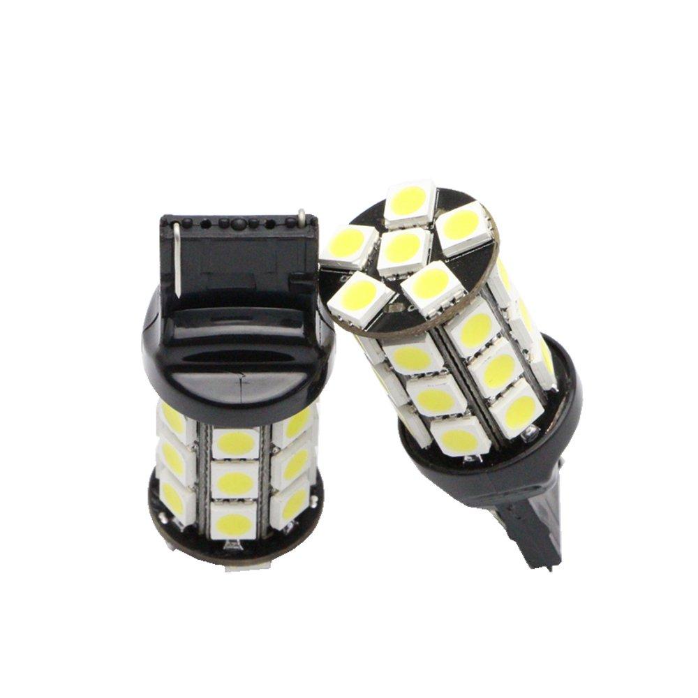 Nslumo Super Bright 510lm T20 7440 W21w 3.6 W High Power LED Car Light Turn Brake Reverse Tail Singal Back up Light Bulb 12v 14v Car Blue Light Bulb Canbus Error Free 2pcs Per Set