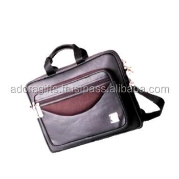 Men/'s Genuine Cow Leather Shoulder Messenger Bag Briefcase Handbag Laptop bag