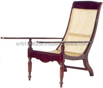 Teak Solid Wood Plantation Chair Wooden