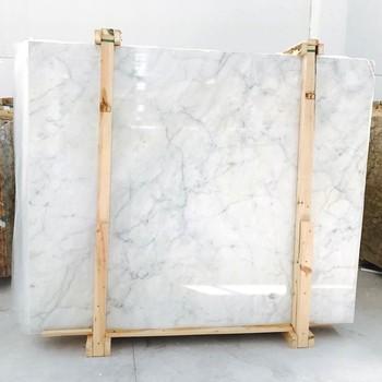 White Marble Topaz With Grey Veins Alternative To Carrara