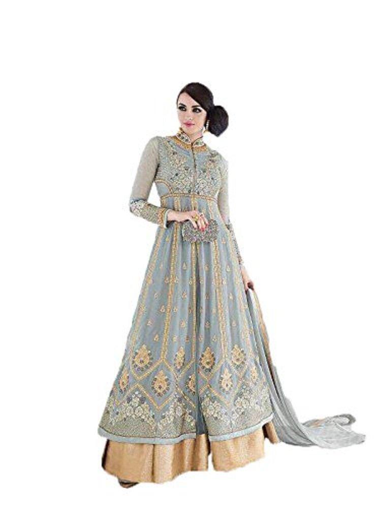Get Quotations  C2 B7 Delisa Readymade New Designer Bollywood Indian Pakistani Anarkali Suit Vf